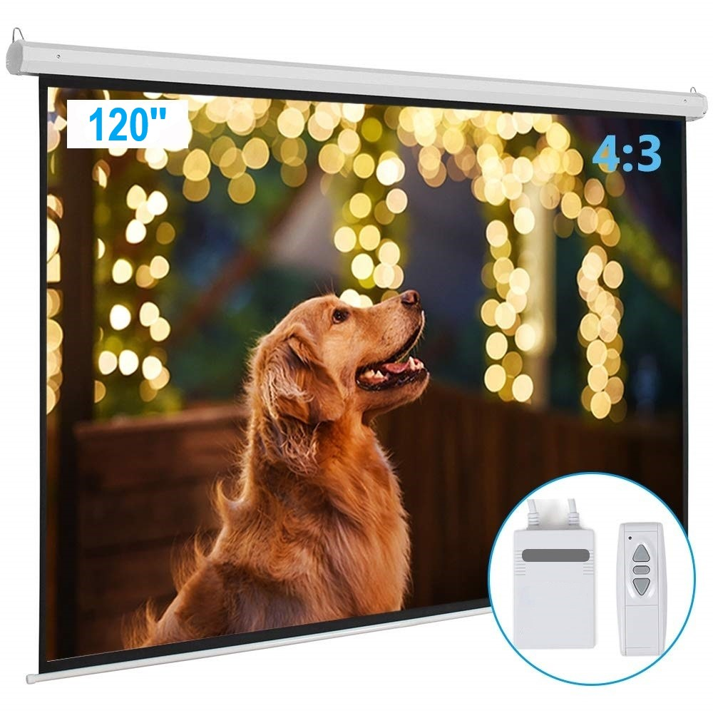 8x6 Feet 120 Inch Motorized Projector Screen 4 3 Aspect Ratio Dazzelon Inches to feet feet to inches. 8x6 feet 120 inch motorized projector screen 4 3 aspect ratio